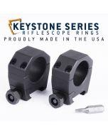 "EGW 1"" Tube Keystone Scope Rings .850"" Low 62000"