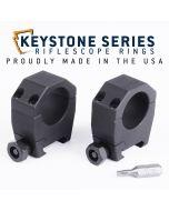"EGW 1"" Tube Keystone Scope Rings .990"" Medium 62001"