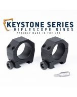 "Keystone 30mm Tube Scope Rings - .850"" Low"