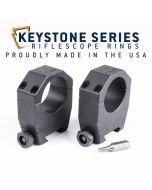 "EGW 30mm Tube Keystone Scope Rings .850"" Medium 62101"
