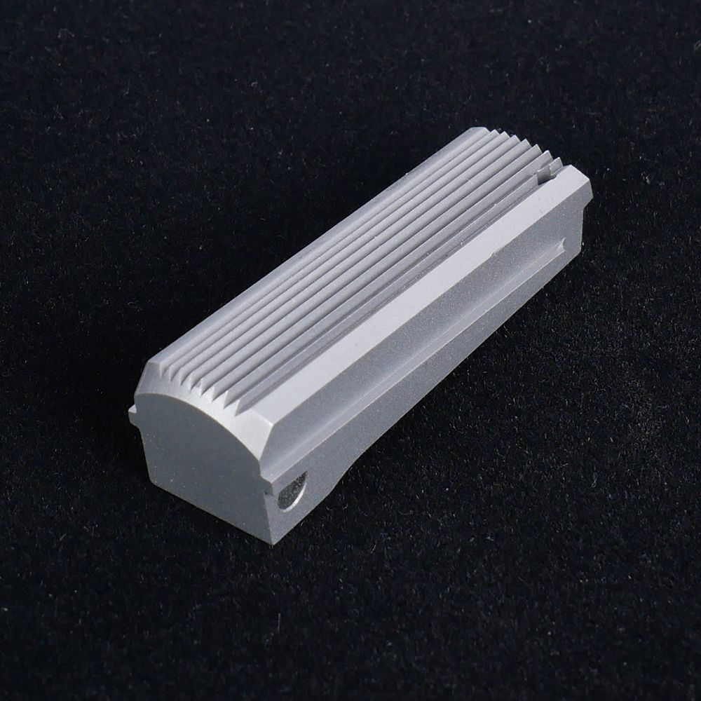 Mainspring Housing Flat Serrated Stainless Steel