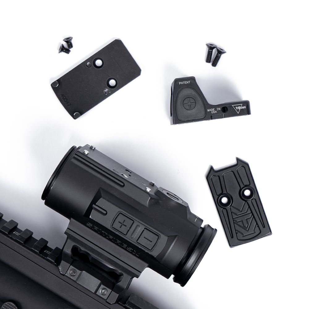 Trijicon RMR and adapter plate mount for Vortex Spitfire