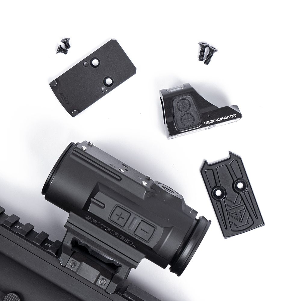 Holosun 507c and EGW adapter plate mount for Vortex Spitfire