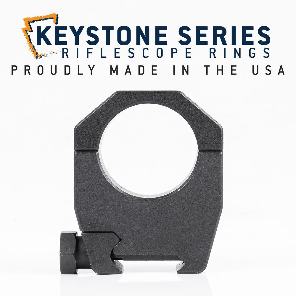 EGW 30mm Tube Keystone Scope Rings 1.275