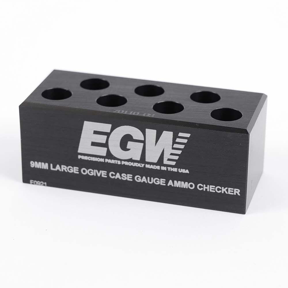 Case Gauge Ammo Checker 9 mm 7-hole Large Ogive