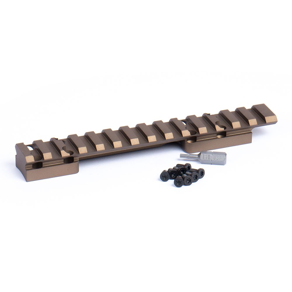 HD Browning X-Bolt SSA Picatinny Rail 0 MOA Bronze