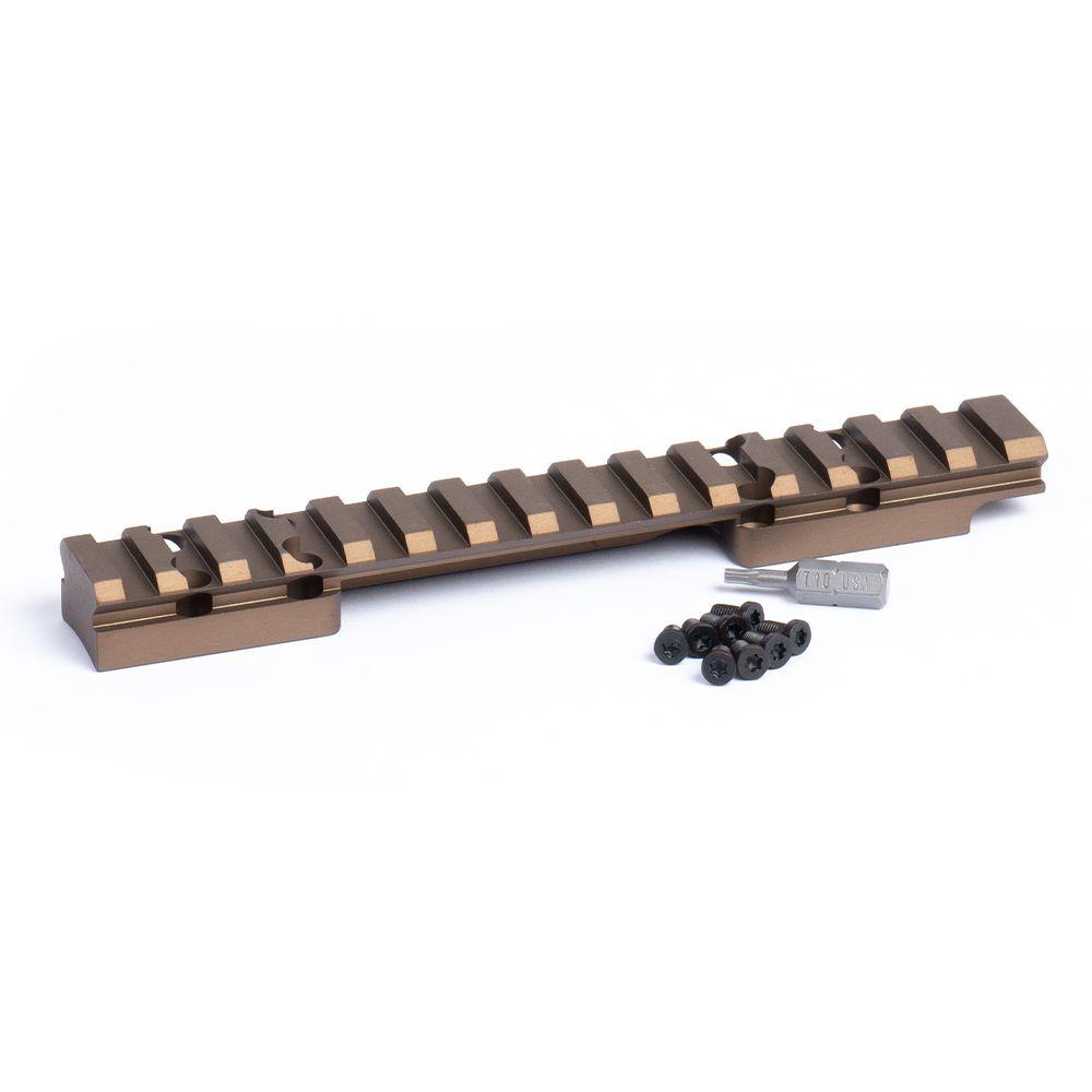 HD Browning X-Bolt Short Action Picatinny Rail 0 MOA Bronze