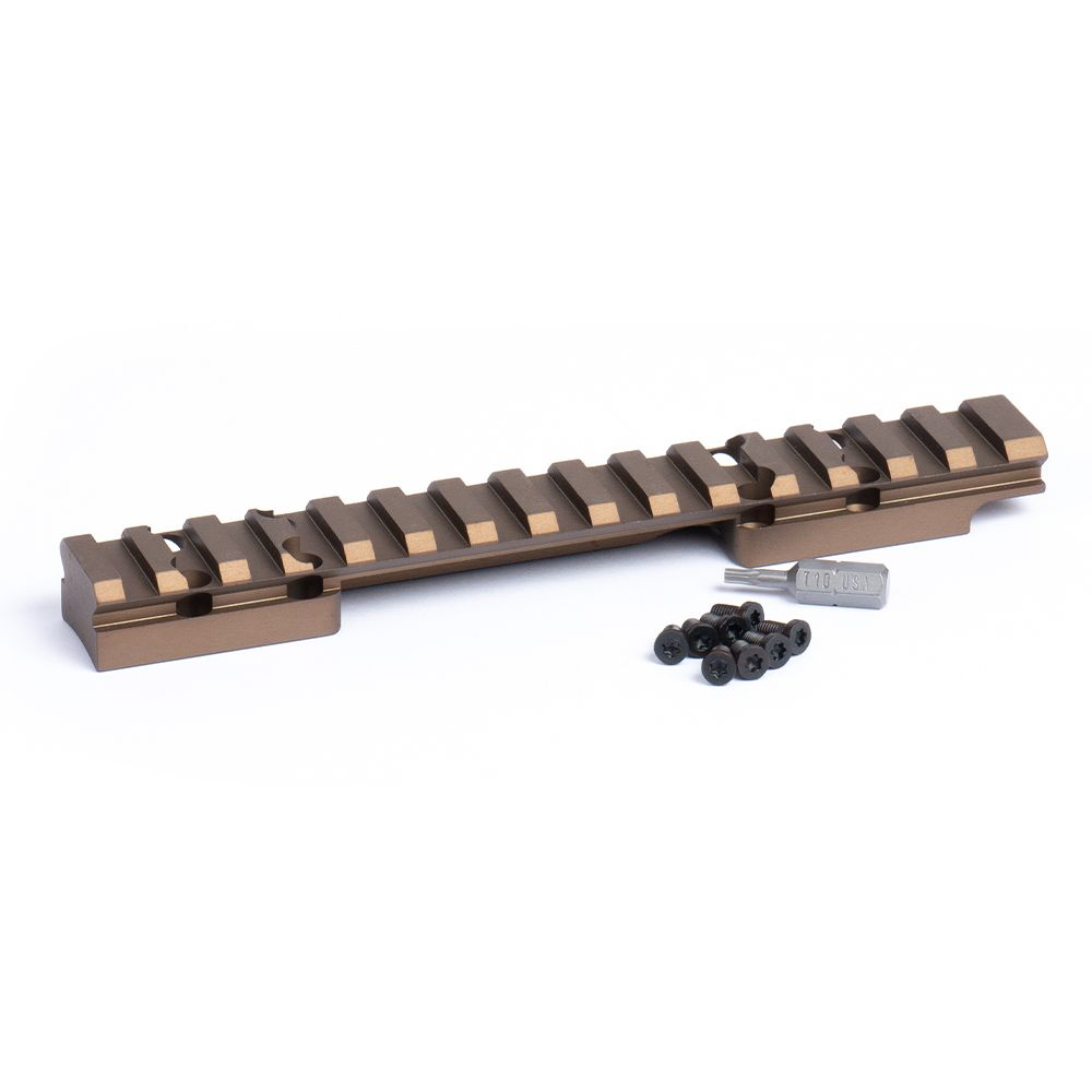 HD Browning X-Bolt Short Action Picatinny Rail 20 MOA Bronze