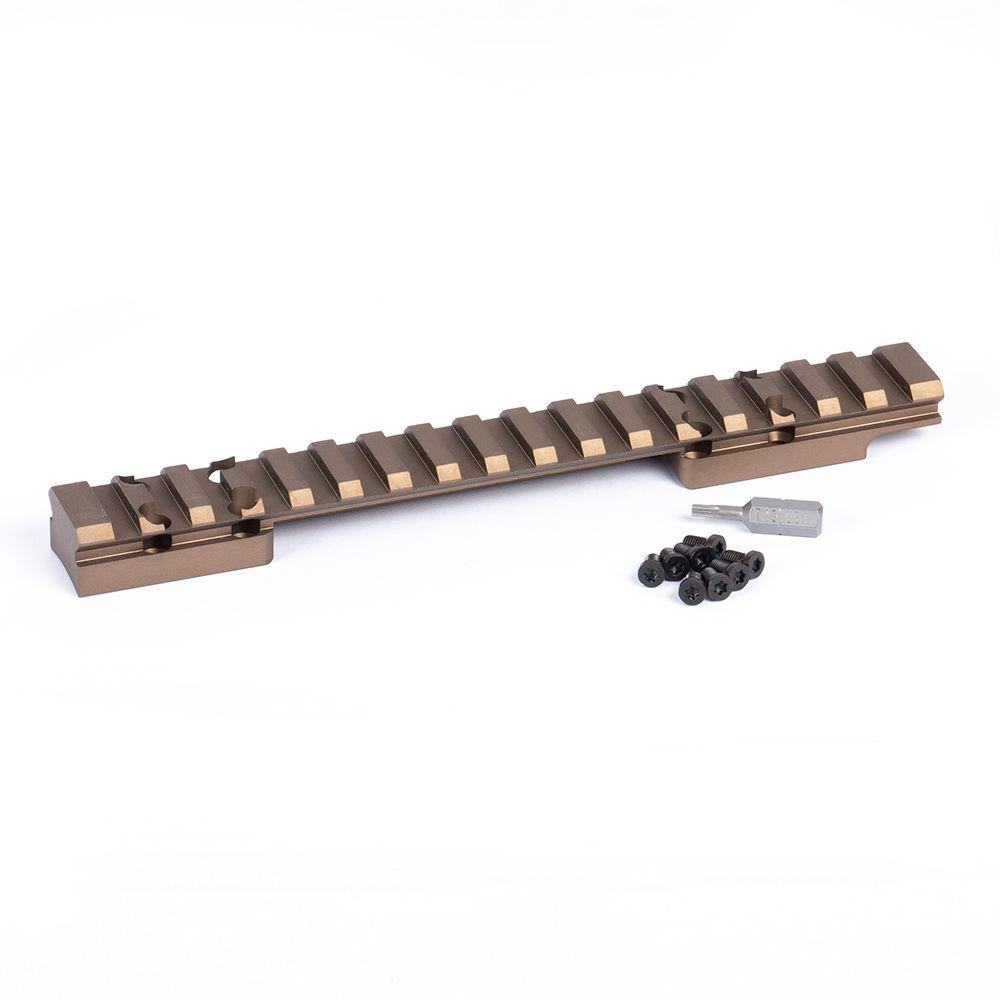 HD Browning X-Bolt Long Action Picatinny Rail 20 MOA Bronze