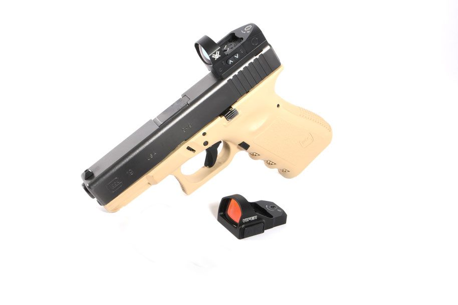 Vortex Viper / Venom Glock Sight Mount (fits Burris FastFire and Docter)