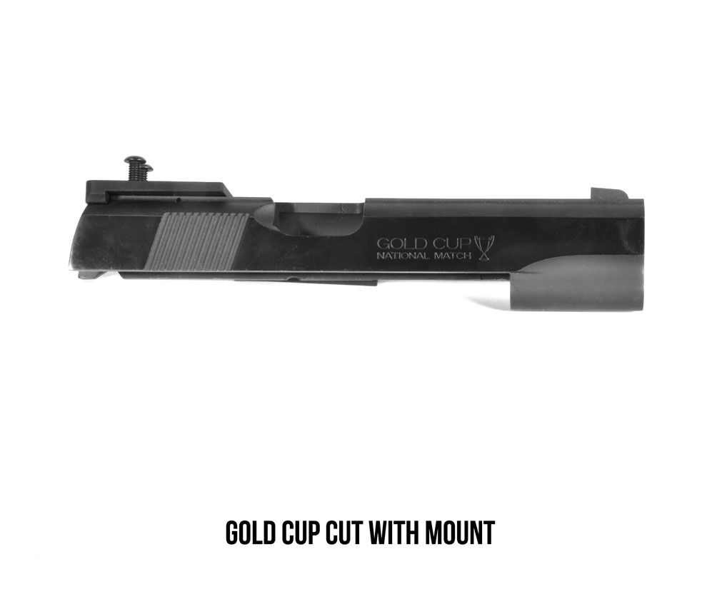 DeltaPoint Pro Colt Gold Cup Sight Mount (fits Shield RMS/RMSc/SMS, JPoint, Redfield Accelerator, and Optima)