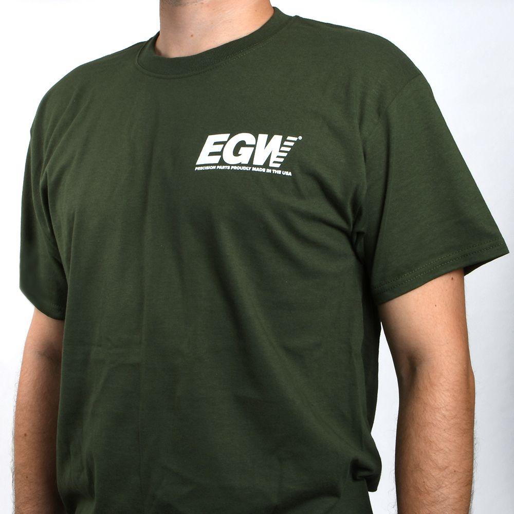 EGW Long Shot O.D. Green T-Shirt - 2X Large