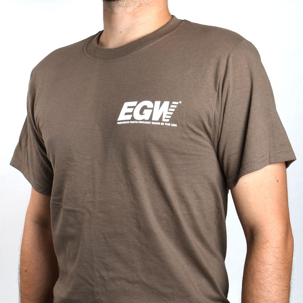 EGW Long Shot Tan T-Shirt - Medium