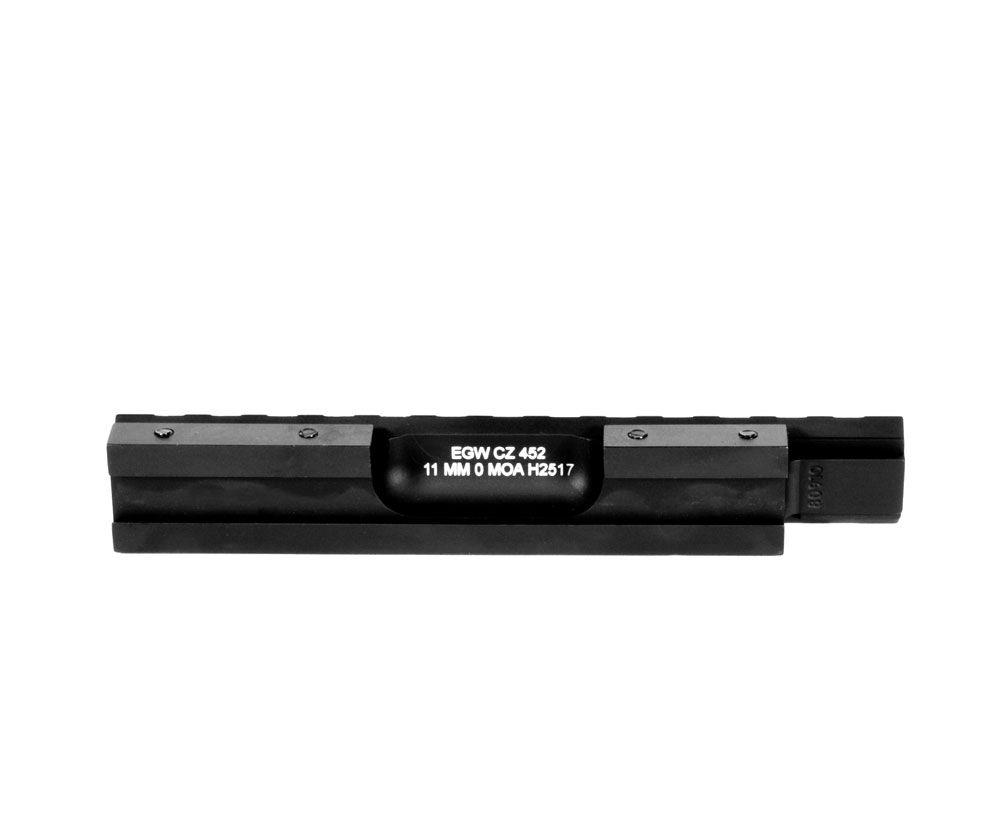 HD CZ 452, 453, 455, 457, 511, 512 For 11mm Picatinny Rail Mount 0 MOA