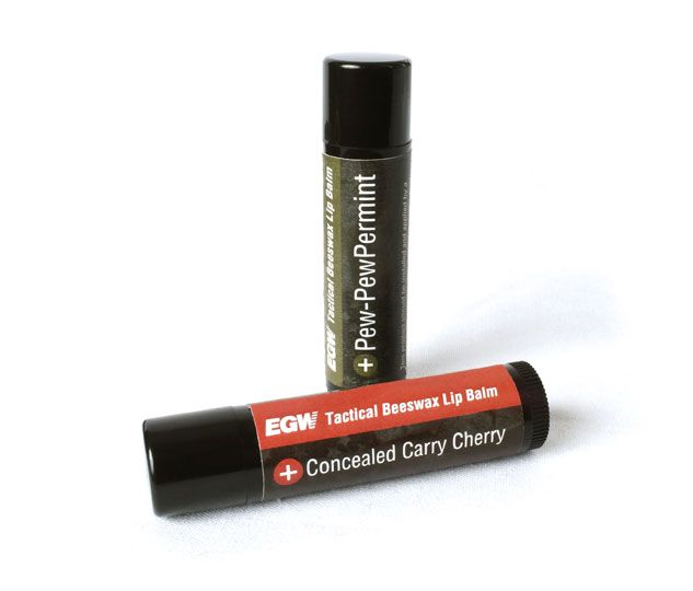 Concealed Carry Cherry Tactical Lip Balm