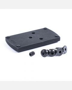 Ruger Security 9 red dot adapter plate for Vortex Viper and Vortex Venom with screws.