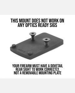 Trijicon RMR Sight Mount for Sig Sauer P220-229, 320
