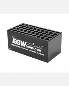 EGW Ammo Chamber Checker 6.5 Creedmoor 50-Hole