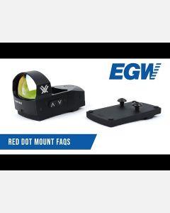 Trijicon RMR / SRO Mount for Remington / Para 10mm Long Slide
